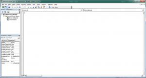 VBA Editor Window