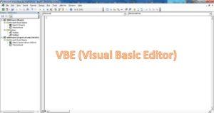 vbe (visual basic editor) img