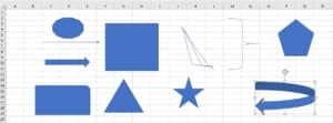 Shapes in Excel Addin C#