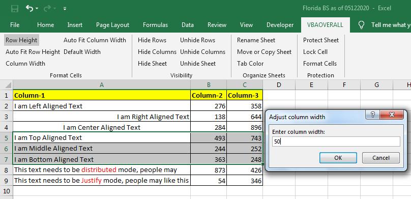 Dynamically change ColumnWidth in Excel C# Addin