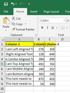 AutFit column width