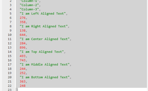 Create json from Excel Range C#