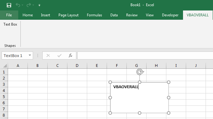 Working with Shapes in Excel Addin C#