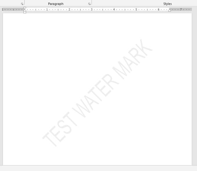 Add/Insert Watermark in Word VBA