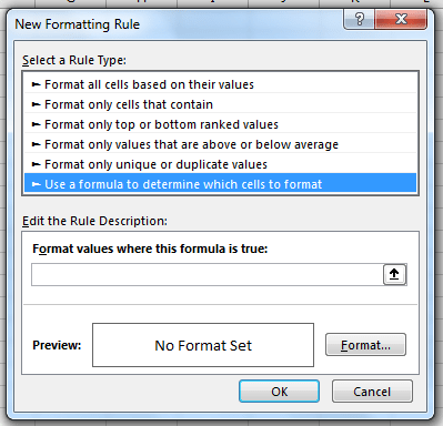 Conditional Formatting in Excel Add-in or Excel Plugin